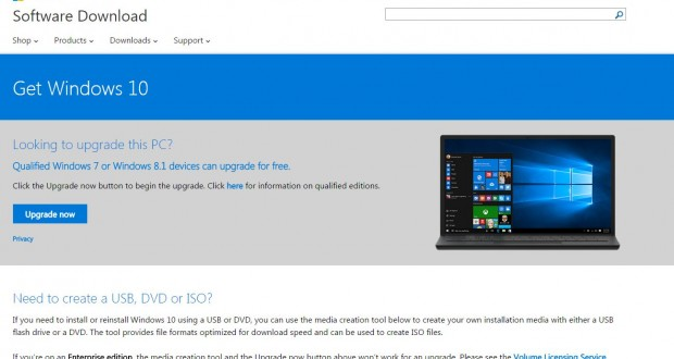 Qualified Windows 7 or Windows 8 1 devices can upgrade for